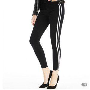 Rag & Bone Black Skinny Tuxedo Jeans High Rise 27